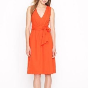 J.CREW Elinor Dress Linen Blend